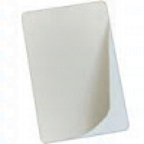 Fargo-UltraCard 10 Mil Paper Back - Adhesive Back Clam Shell Cards - 500 ct