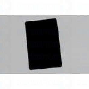 Blank PVC Rewritable Cards (Black) 30 Mil 1 Pack of 100 Cards