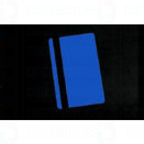 Blank PVC Rewritable Cards (BLue) with HiCo Mag Stripe 30 Mil Pack of 100 Cards
