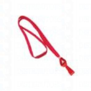 Breakaway Lanyard w Plastic Hook - Red Pack of 100