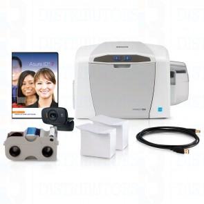 Fargo C50 Complete ID Card Printer System