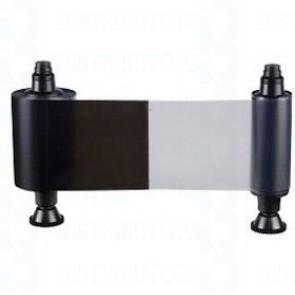 2- Panel Monochrome Ribbon - Black TT + Overlay - KO 600 Prints/Roll
