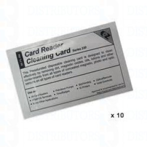 Fargo 82133 Alcohol cleaning Cards. 10 Pack