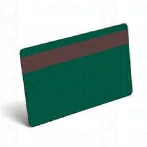 PVC BLANK CARD-CR80 30 Mil HiCo GREEN - Pack of 500
