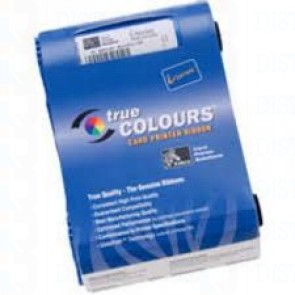 Zebra iSeries color ribbon 5 panel YMCKO with 1 cleaning roller, 330 images This 5 Panel ribbon allow you to print your ID card, Visitor ID, Student ID, Pass, Loyalty card or Gift Card in full color front and black back.  This is the iSeries color cartrid