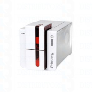 Primacy Simplex Expert Smart & Contactless Fire Red Evolis SCM Smart Card and Contactless Encoder