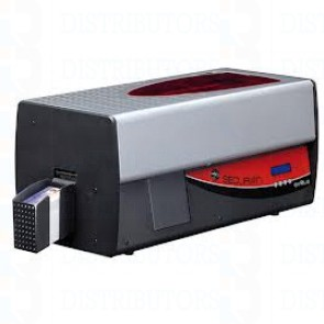 Securion Mag ISO Smart Contactless Printer & Laminator w dual HiCo/LoCo magnetic stripe encoder, smart card contact station, a contactless antenna and an Evolis SCM Dual chip encoder, Ethernet and USB< USB driven encoder
