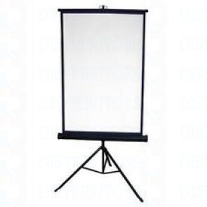 "Standard Reversable Backdrop with Stand- Cloth Backdrop, 34"" X 28"", White/Royal Blue"