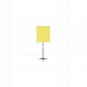 """Standard Backdrop with Stand- Cloth Backdrop, 34"""" X 28"""", Yellow"""
