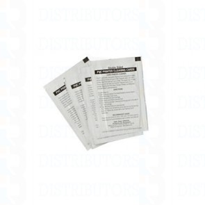 Zebra Cleaning Card Kit (Box of 100) For all printers - Legacy
