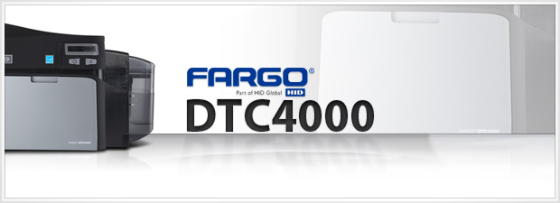 Fargo DTC4000 ID Card Printer